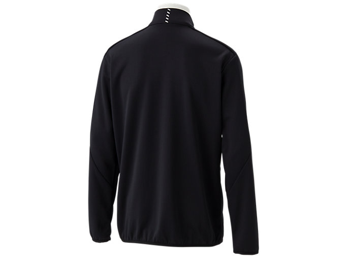Back view of トレーニングジャケット, パフォーマンスブラック