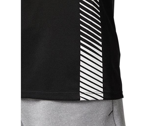 Alternative image view of プラクティスランニングシャツ, パフォーマンスブラック
