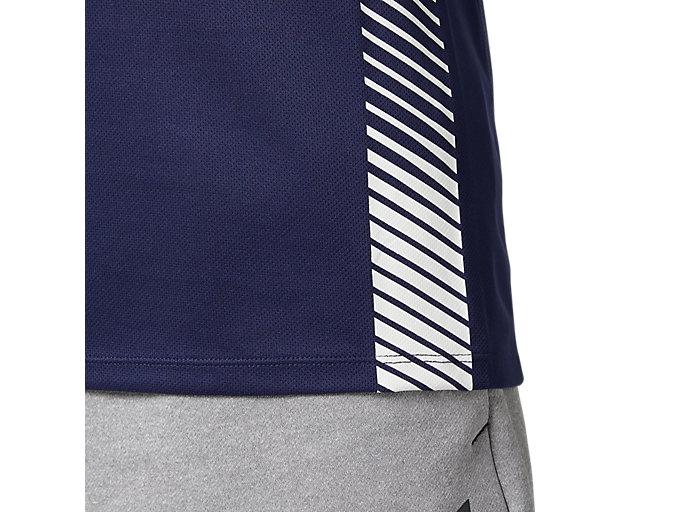 Alternative image view of プラクティスランニングシャツ, ピーコート
