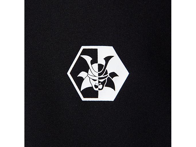 Alternative image view of ウーブンパンツ テンカ, パフォーマンスブラック×スピードレッド テンカ