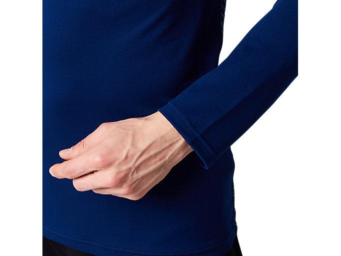 Alternative image view of AWCクールロングスリーブトップ, ブルーエクスパンス