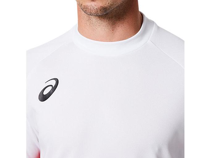 Alternative image view of ゲームシャツ, BホワイトxCR