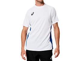 ゲームシャツ, BホワイトxAB