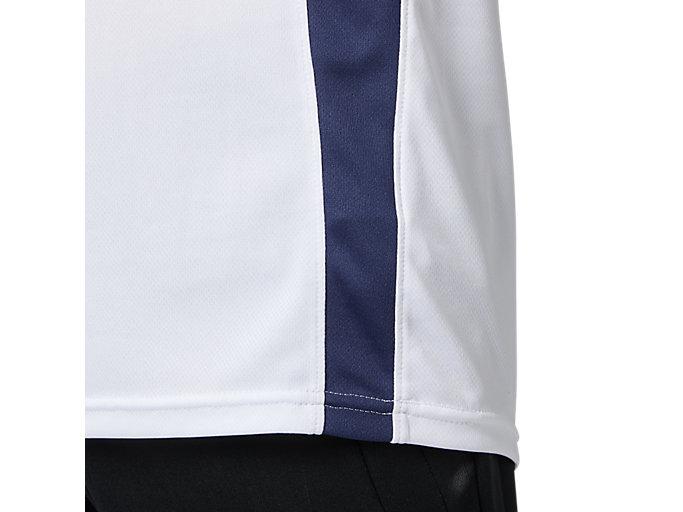 Alternative image view of ゲームシャツ, ホワイトxピーコート