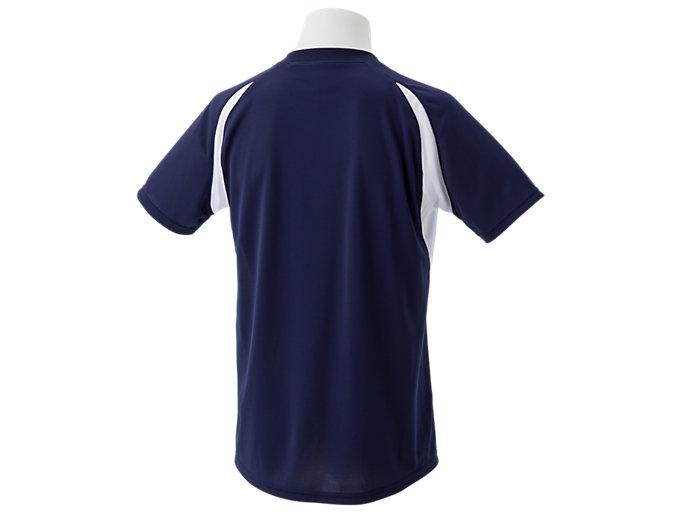 Back view of ゲームシャツ, ピーコート