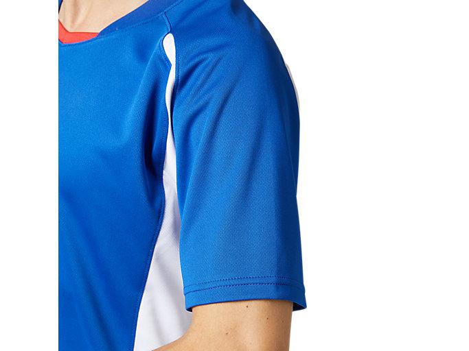 Alternative image view of ゲームシャツ, アシックスブルー