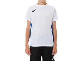 ジュニア ゲームシャツ, BホワイトxAB