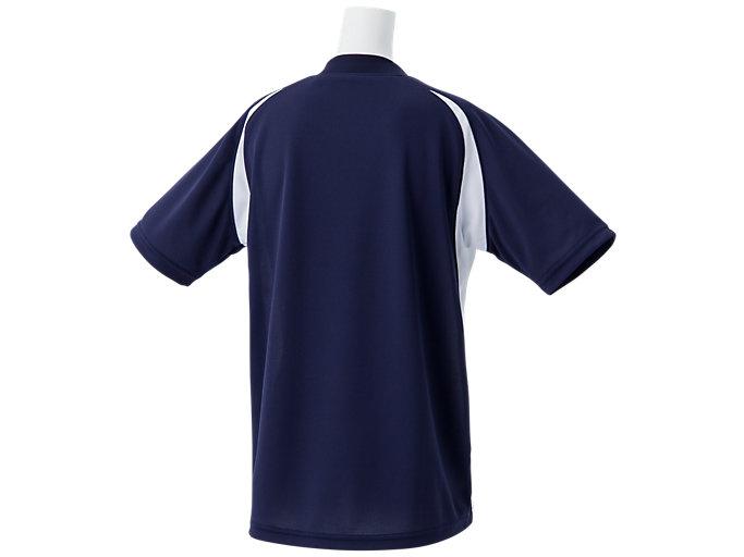 Back view of Jr.ゲームシャツ, ピーコート