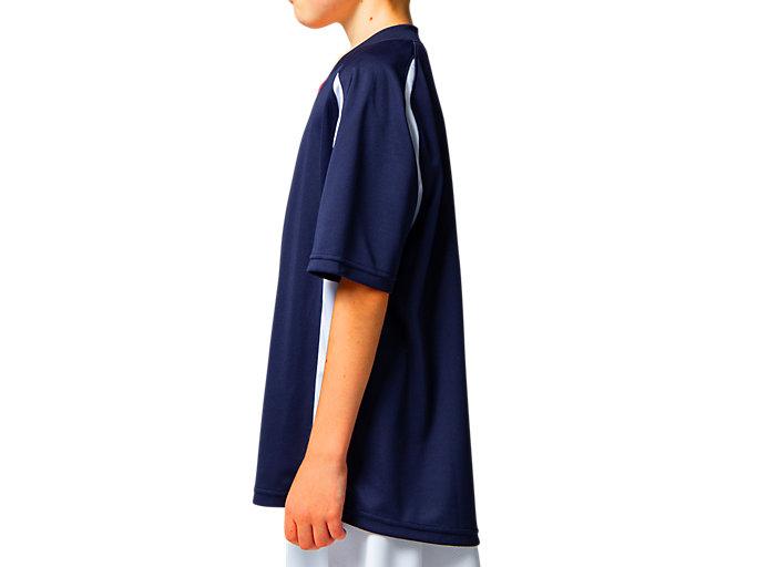Side view of Jr.ゲームシャツ, ピーコート
