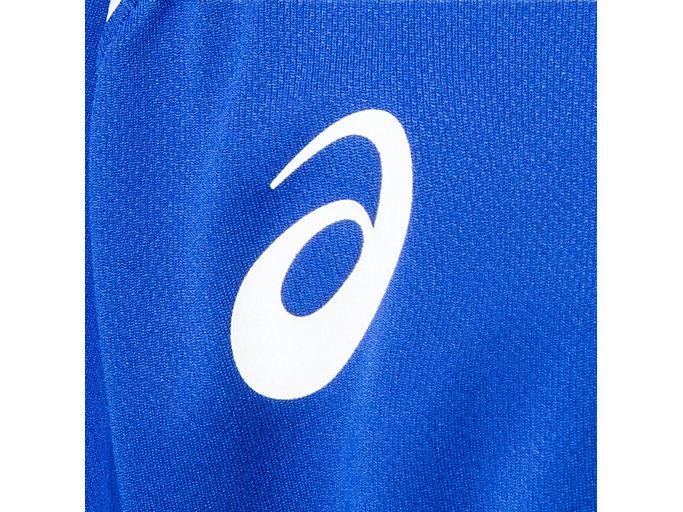 Alternative image view of Jr.ゲームシャツ, アシックスブルー