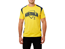 CRICKET AUSTRALIA SUPPORTER TEE C
