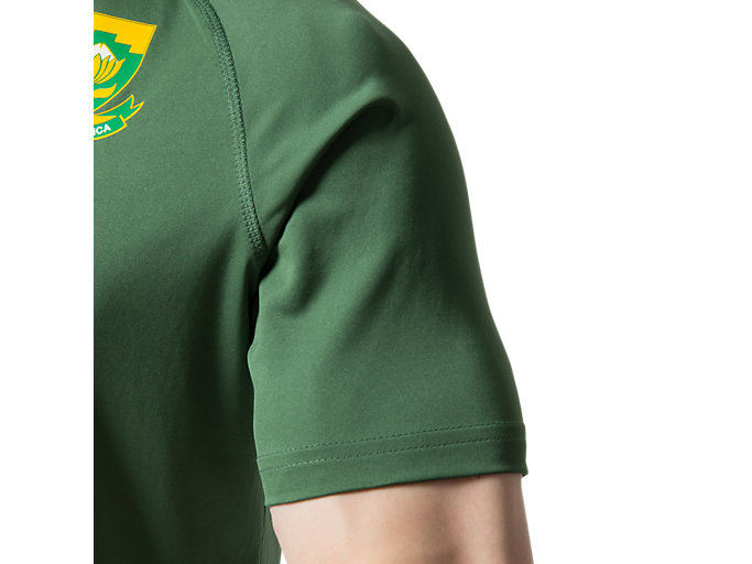 Alternative image view of SB HOME SS FAN TEE M, OAK GREEN