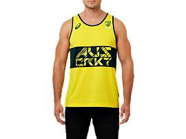 CRICKET AUSTRALIA SUPPORTER SINGLET