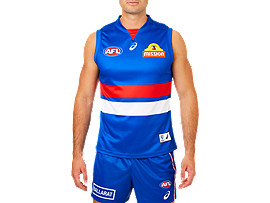 WESTERN BULLDOGS REPLICA HOME GUERNSEY
