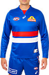 WESTERN BULLDOGS REPLICA HOME GUERNSEY LONG SLEEVED