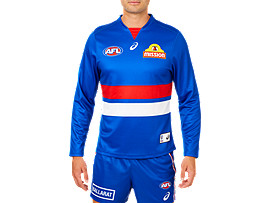 W BULLDOGS REPLICA HOME GUERNSEY L/S
