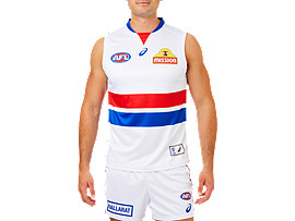 W BULLDOGS REPLICA CLASH GUERNSEY