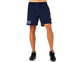 WESTERN BULLDOGS TRAINING GYM SHORT 8 INCH