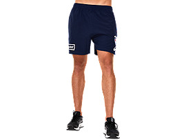 WESTERN BULLDOGS REPLICA TRAINING GYM SHORT 8 INCH