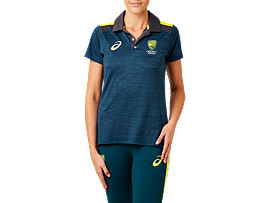 CRICKET AUSTRALIA REPLICA TRAVEL POLO - WOMENS