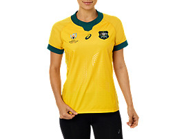 WALLABIES RWC GAMEDAY HOME SHORT SLEEVED JERSEY - WOMENS