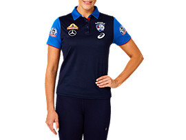 WESTERN BULLDOGS MEDIA POLO WOMENS