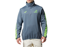 WALLABIES RWC TRAINING 1/4 ZIP JACKET