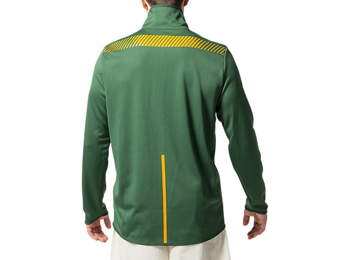 Back view of SB PRESENTATION JACKET REPLICA, OAK GREEN