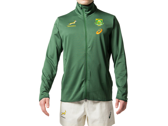 Front Top view of SB PRESENTATION JACKET REPLICA, OAK GREEN