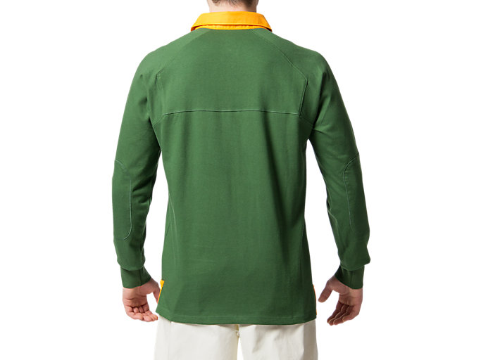 Back view of SB TIC CLASSIC JERSEY-LS, OAK GREEN