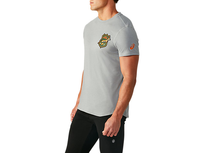 Side view of SB TIC TEE 2 (EMBROIDERED), GREY HEATHER