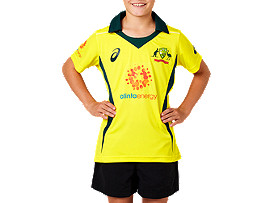 CRICKET AUSTRALIA REPLICA ODI HOME SHIRT - YOUTH