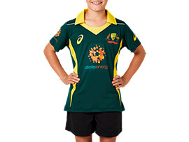 CRICKET AUSTRALIA REPLICA ODI AWAY SHIRT - YOUTH