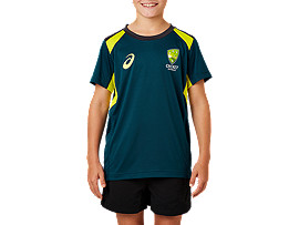 CRICKET AUSTRALIA REPLICA TRAINING TEE - YOUTH