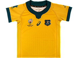 WALLABIES RWC GAMEDAY HOME SHORT SLEEVED JERSEY - KIDS