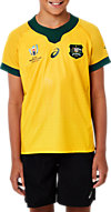 WALLABIES RWC GAMEDAY HOME SHORT SLEEVED JERSEY - YOUTH