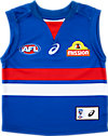 WESTERN BULLDOGS REPLICA HOME GUERNSEY - INFANTS