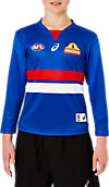 WESTERN BULLDOGS REPLICA HOME GUERNSEY LONG SLEEVED - YOUTH