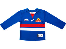 WESTERN BULLDOGS REPLICA HOME GUERNSEY LONG SLEEVED - INFANTS