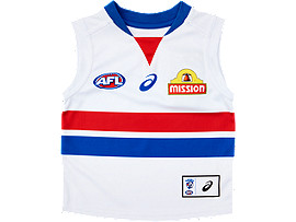 WESTERN BULLDOGS REPLICA CLASH GUERNSEY - INFANTS