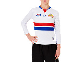 WESTERN BULLDOGS REPLICA CLASH GUERNSEY LONG SLEEVED - YOUTH