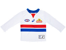 WESTERN BULLDOGS REPLICA CLASH GUERNSEY LONG SLEEVED - INFANTS