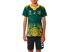 WALLABIES RWC GAMEDAY AWAY SHORT SLEEVED JERSEY - YOUTH