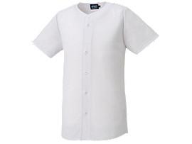 <NEOREVIVE>プラクティスユニフォームシャツ(フルオープン), ホワイト