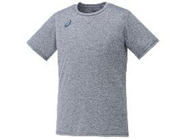 ベースボールTシャツ, チャコール杢