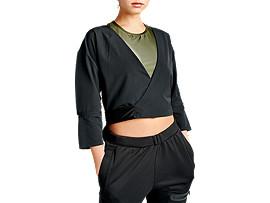 Obi Wrap 3/4 Sleeve Top
