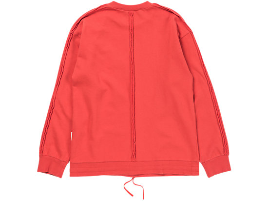 WASHED SWEAT RED