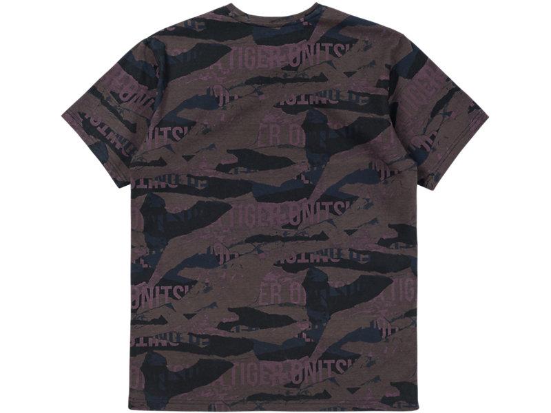Printed T-Shirt Burgundy 5 BK