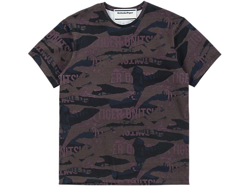 Printed T-Shirt Burgundy 1 FT