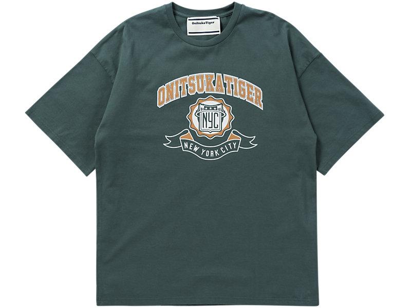 Printed T-Shirt HUNTER GREEN/BIRCH 1 FT